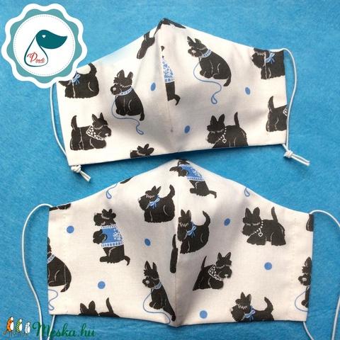 Egyedi szájmaszk -Anya és lánya  szájmaszk - textil szájmaszk - egészségügyi szájmaszk (Pindiart) - Meska.hu