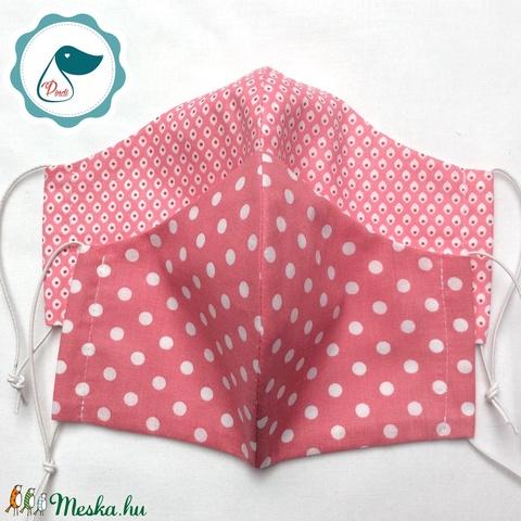Egyedi 2db szájmaszk -mályva színű felnőtt női és teenager szájmaszk - textil szájmaszk - egészségügyi szájmaszk (Pindiart) - Meska.hu