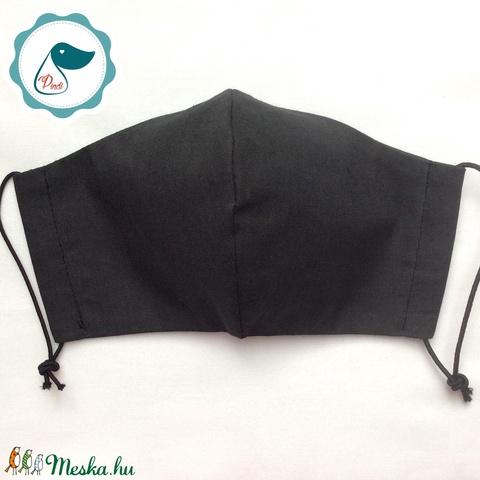 Egyedi szájmaszk - grafit szürke kiskamasz  szájmaszk - textil szájmaszk - egészségügyi szájmaszk - mosható szájmaszk (Pindiart) - Meska.hu
