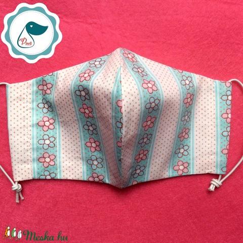 Egyedi szájmaszk - gyerek szájmaszk - textil szájmaszk - egészségügyi szájmaszk - mosható szájmaszk (Pindiart) - Meska.hu