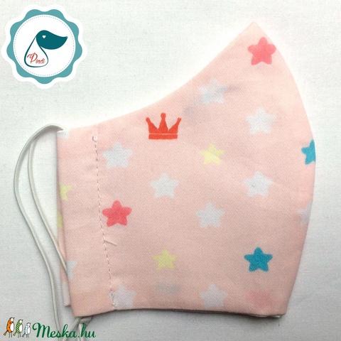 AKCIÓ - Egyedi szájmaszk - rókás gyerek szájmaszk - textil szájmaszk - egészségügyi szájmaszk - mosható szájmaszk (Pindiart) - Meska.hu