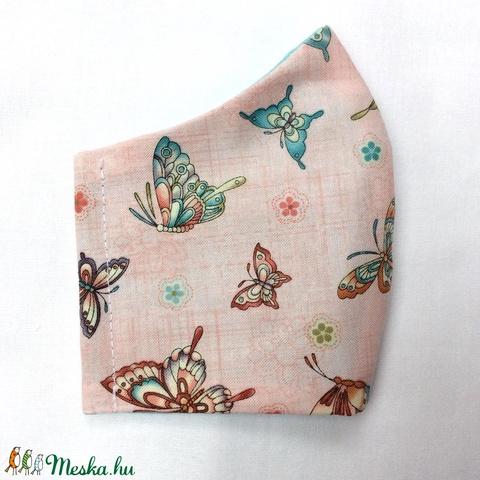 Egyedi mintás -  gyerek szájmaszk - textil szájmaszk - egészségügyi szájmaszk - mosható szájmaszk (Pindiart) - Meska.hu