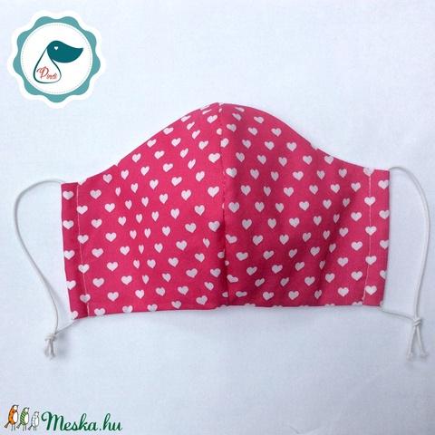 Egyedi mintás kiskamasz szájmaszk - textil szájmaszk - egészségügyi szájmaszk - mosható szájmaszk (Pindiart) - Meska.hu