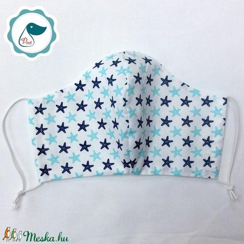 Akciós Férfi tengericsillagos maszk -egyedi arcmaszk - textil szájmaszk - egészségügyi szájmaszk - mosható maszk (Pindiart) - Meska.hu