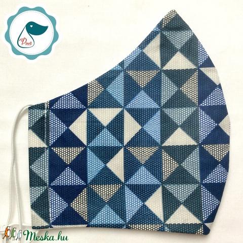 Egyedi apsztrak mintás maszk - felnőtt női és teenager szájmaszk - textil szájmaszk - egészségügyi szájmaszk (Pindiart) - Meska.hu