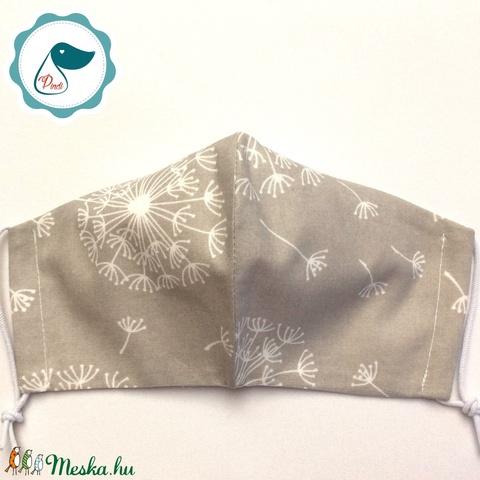 Egyedi pitty,pang mintás maszk - felnőtt női és teenager arcmaszk - textil szájmaszk - egészségügyi szájmaszk (Pindiart) - Meska.hu
