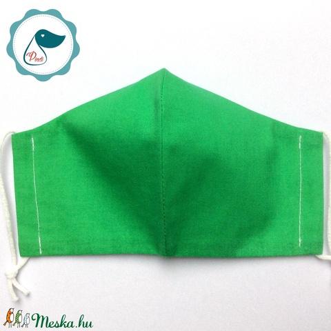 Egyedi egyszínű maszk - férfi arcmaszk - textil szájmaszk - egészségügyi szájmaszk - Meska.hu