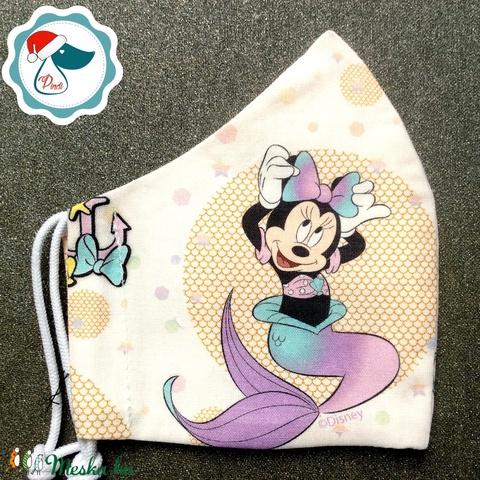 Egyedi Mikiegér mintás maszk - gyerek textil arcmaszk - egészségügyi szájmaszk - mosható szájmaszk (Pindiart) - Meska.hu