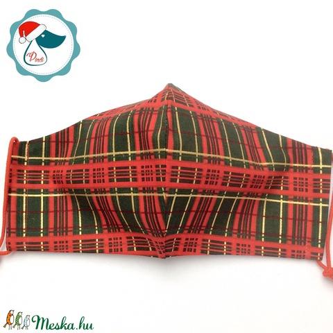 Egyedi karácsonyi maszk - kiskamasz arcmaszk - textil szájmaszk - egészségügyi szájmaszk - mosható szájmaszk (Pindiart) - Meska.hu