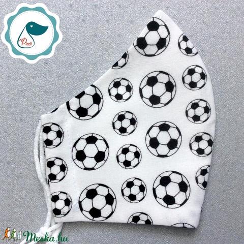 Egyedifudball labdás maszk női szájmaszk - újévitextil szájmaszk - egészségügyi szájmaszk - Meska.hu