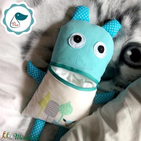 Gondotevő textil játék -jóbarát tektil figura - alvós játék - gond - Meska.hu