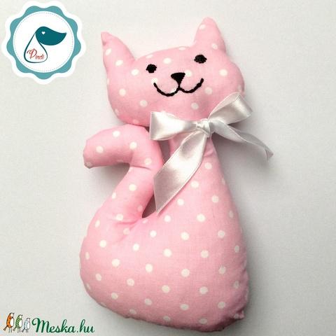 Cica - egyedi tervezésű kézműves játék - textiljáték - macska - játék & gyerek - plüssállat & játékfigura - cica - Meska.hu