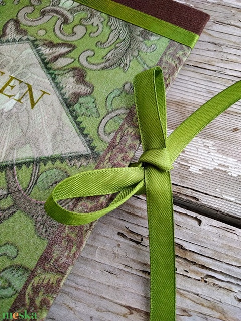 Zöld teás  receptkönyv (PinkPoppy) - Meska.hu