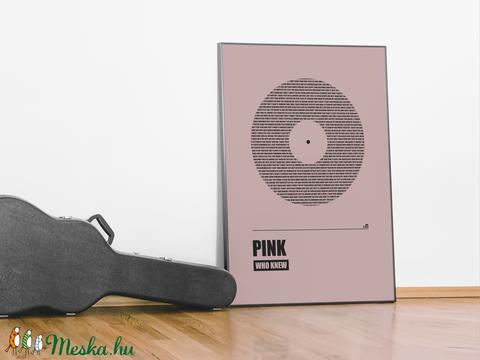 LYRIX poszter - egyedi, skandináv stílusú, modern, minimalista poszter nagy méretben / 50 x 70 cm (PixMarket) - Meska.hu