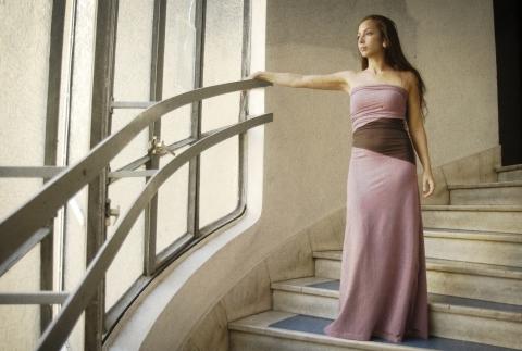 Sasha- női sztreccs pamut ruha (PKant) - Meska.hu 505232a47d