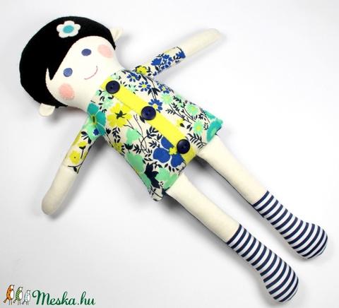 Lány Baba, Rongybaba, Játékbaba,  Textiljáték - Kamilla (poppydolls) - Meska.hu