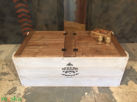 Láda/Dohányzóasztal 3 (PuritanSteel) - Meska.hu