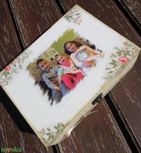 Teás doboz-fényképpel, feliratokkal :-) - Meska.hu