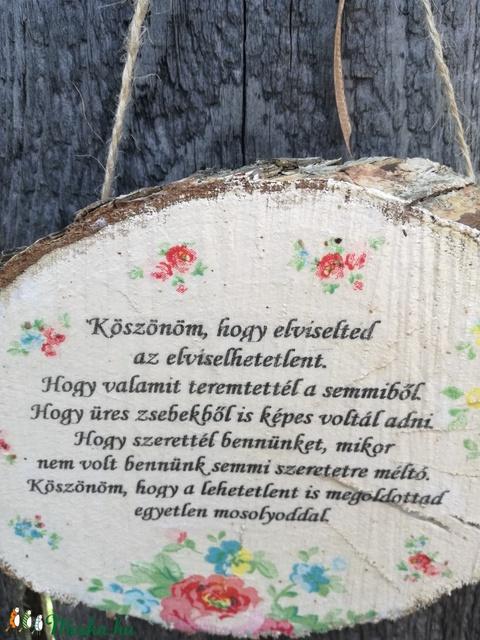 Üzenet Édesanyának. :-)  - Meska.hu