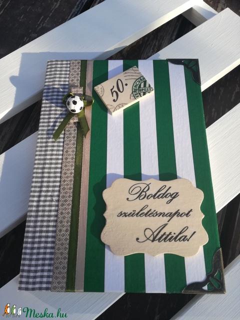 Focis napló, névre szólóan, felirattal.  :-) - Meska.hu