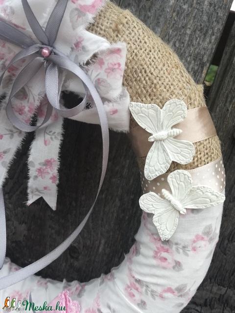 Kislány! Pillangós-pöttyös kesztyűs ajtódísz. :-) - Meska.hu