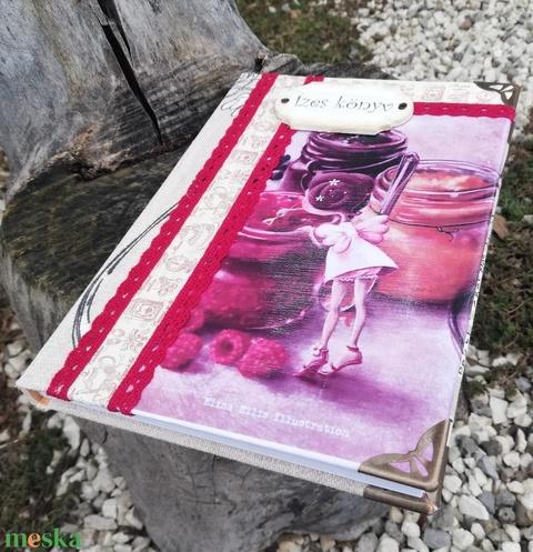 Ízes könyv, bájos kislánnyal.  :-) - Meska.hu