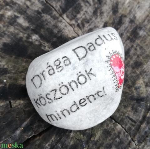 Feliratos kövek a Dadusoknak. :-) - Meska.hu