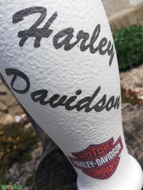 Harley-Davidson pohár motorosoknak, transzferálva. :-) - Meska.hu