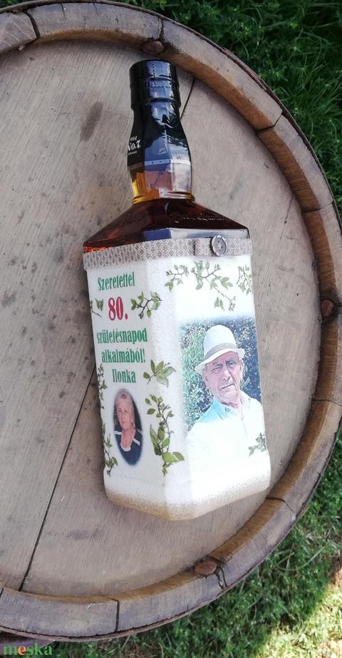 Whisky átalakítva, 80. szülinapra. :-) - Meska.hu