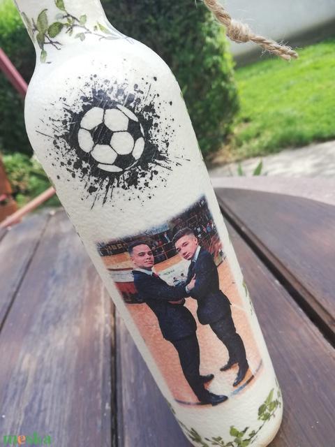 Fényképes és feliratos italosüveg, ballagásra.   :-) - Meska.hu