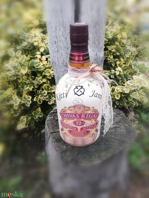 Whisky újragondolva Apának. Esküvőre, házassági évfordulóra, egyedi mintával, felirattal, akár fotóval. :-) - Meska.hu