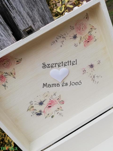 Minőségi, egyedi, lezárható, feliratozott esküvői pénzgyűjtő persely. :-) - Meska.hu