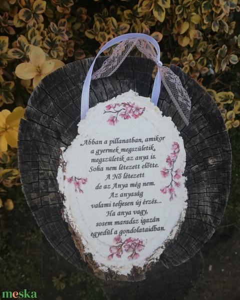 Fára írt üzenet az anyukáknak. :-)  - Meska.hu