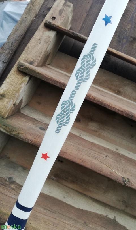 Saját névvel feliratozott, nagyméretű fa evező dekoráció. :-) - Meska.hu