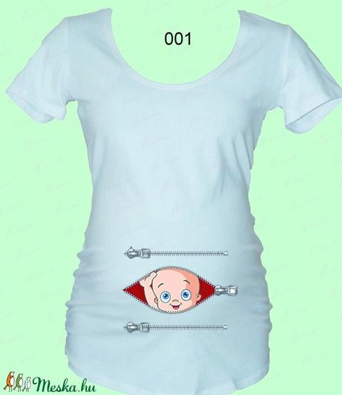 Vicces kismama póló (Merina) - Meska.hu