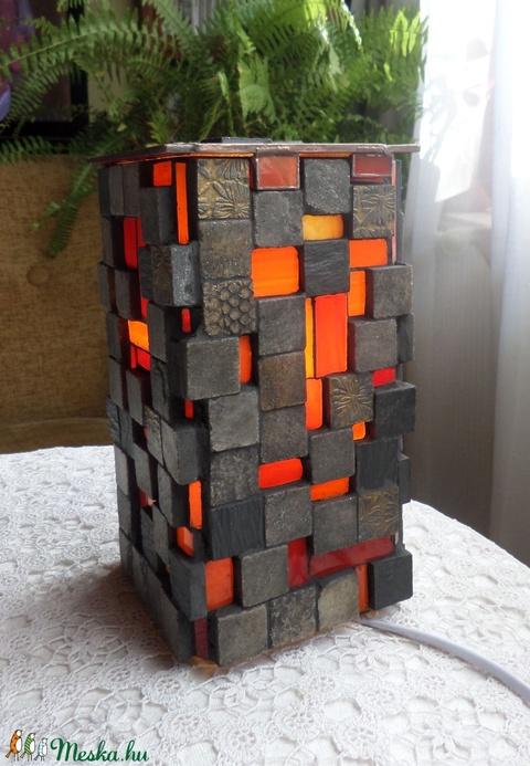 Mozaikos hangulatlámpa (REMuhely) - Meska.hu