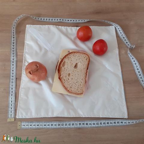 Újraszalvéta, vízhatlan örökszalvéta, szendvics csomagoló - unikornis - snackbag - Meska.hu