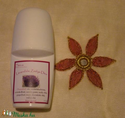 Levendula golyós deo 50 ml, alumínium és toxin mentes (Saleva) - Meska.hu