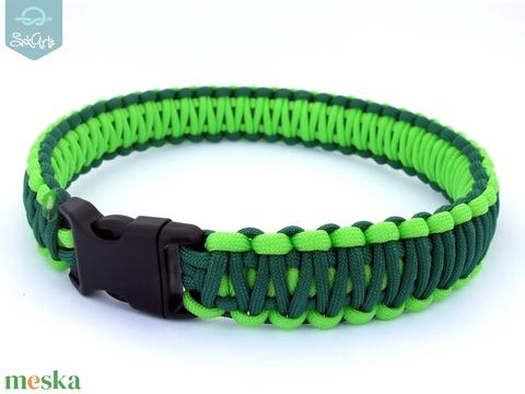 Paracord kutyanyakörv - KINGCOBRA - műanyag csattal (Sikarts) - Meska.hu