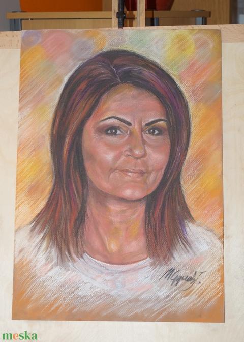 Pasztell portré megrendelésre (sokszinvilag) - Meska.hu