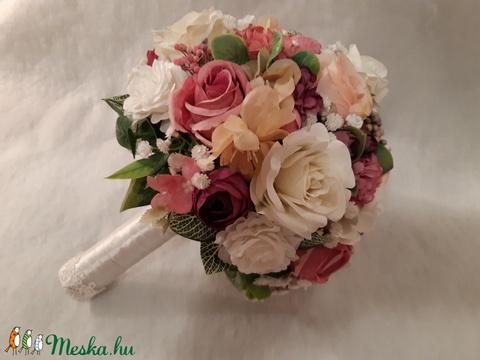 Fehér és rózsaszín harmónia (solba66) - Meska.hu