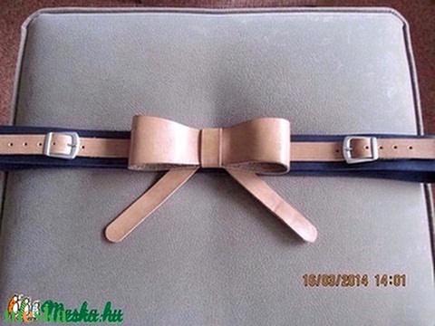 Masnis bőröv,akár alkalmi ruhához is-VARIÁLHATÓ - Meska.hu