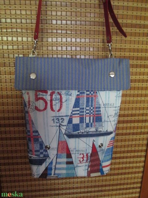 Irány a tenger!! Igazi nyaralós ,táska - Meska.hu