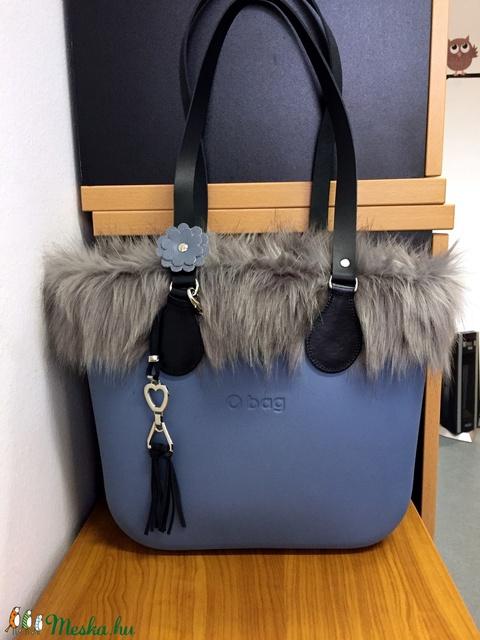 AKCIÓ!!!! O bag táskához való táskadísz szíves fémdísszel - Meska.hu