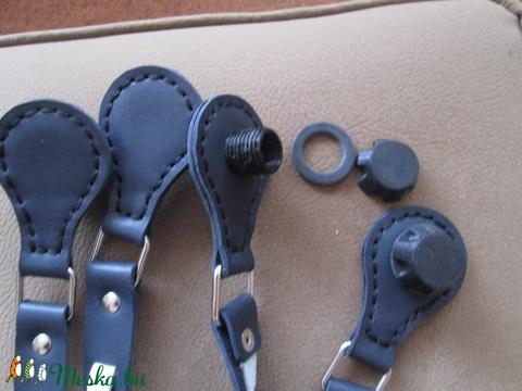 Mindkét oldalán használható O bag táskafül csodaszép kígyóbőr utánzatú valódi bőrből - Meska.hu