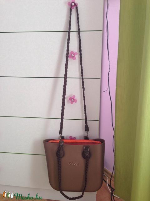 Fonott keresztpánt o bag táskákhoz,de másmilyen táskához is jó - Meska.hu