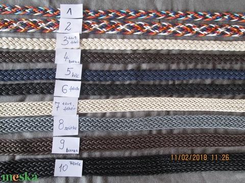 AKCIÓ!!! Csodaszép bőrhatású hevederből készült pántok,klippel,vagy tappanccsal - Meska.hu