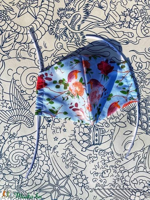 Textil Maszk Bloom (spycraft) - Meska.hu