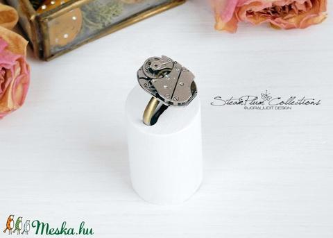 Miss Addison Withlock - steampunk gyűrű  (SteamPlum) - Meska.hu