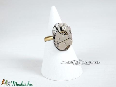 Miss Addison Withlock - steampunk gyűrű  - Meska.hu